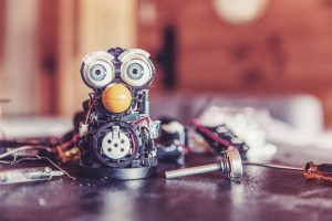 Robot Furby IoT Solutions World Congress