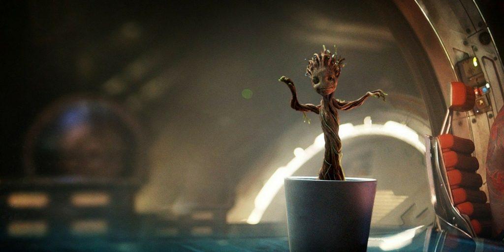 Personaje Groot, de la película Guardianes de la galaxia