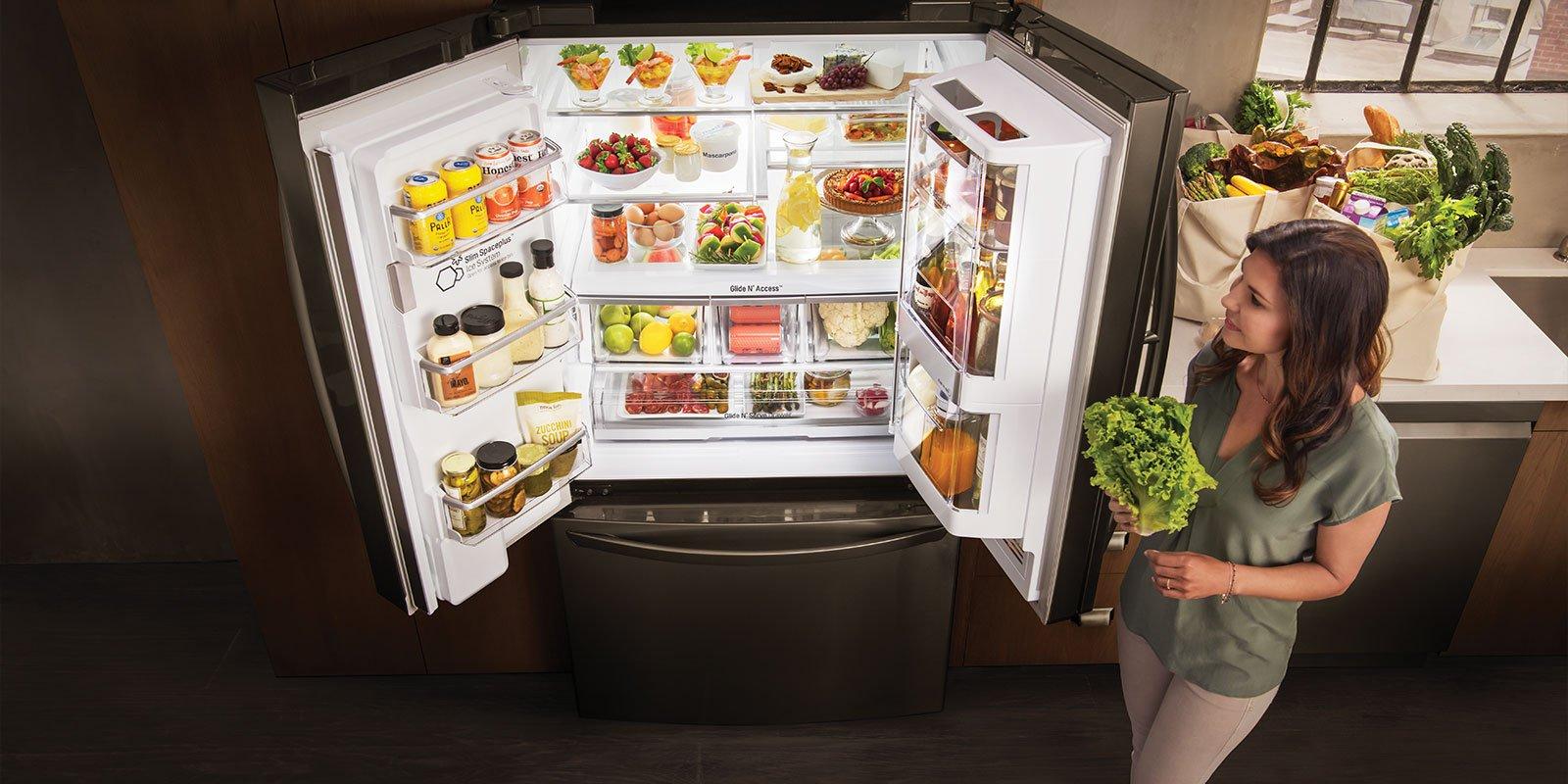Con el frigorífico inteligente LG te vas a ahorrar más de una visita a la cocina