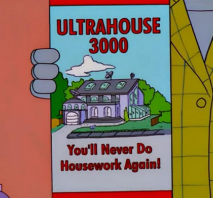 ¿El futuro se parece a la casa inteligente de los Simpson?