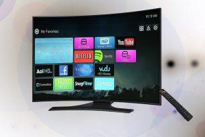 smart tv con varias apps