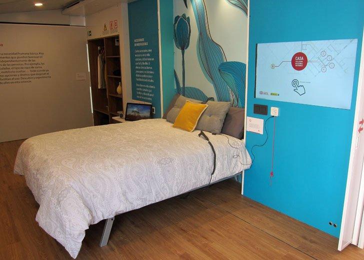 dormitorio smart home ONCE