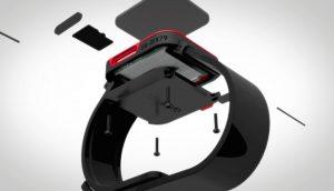 imagen reloj gameband de Atari