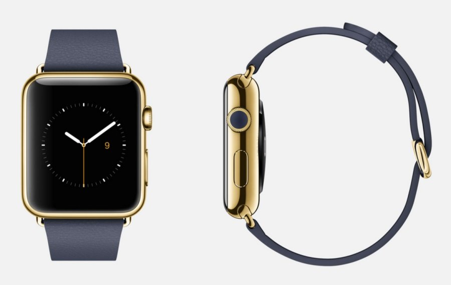 smartwatch de lujo Apple