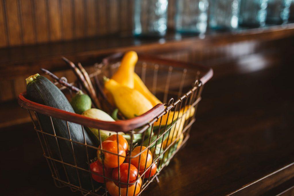 cesta IoT en el sector alimentario