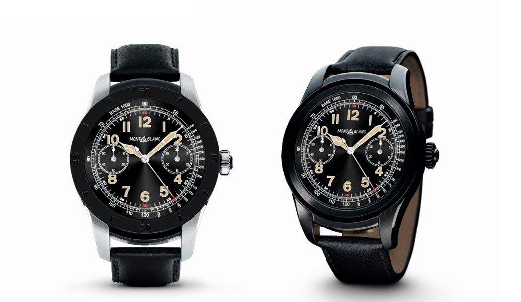 smartwatch de lujo Montblanc