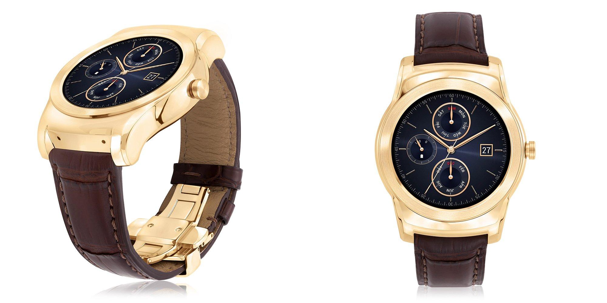 smartwatch de lujo LG