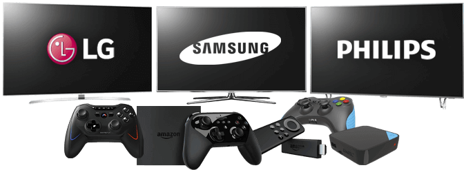 Smart tv y set-top-box para usar gamefly
