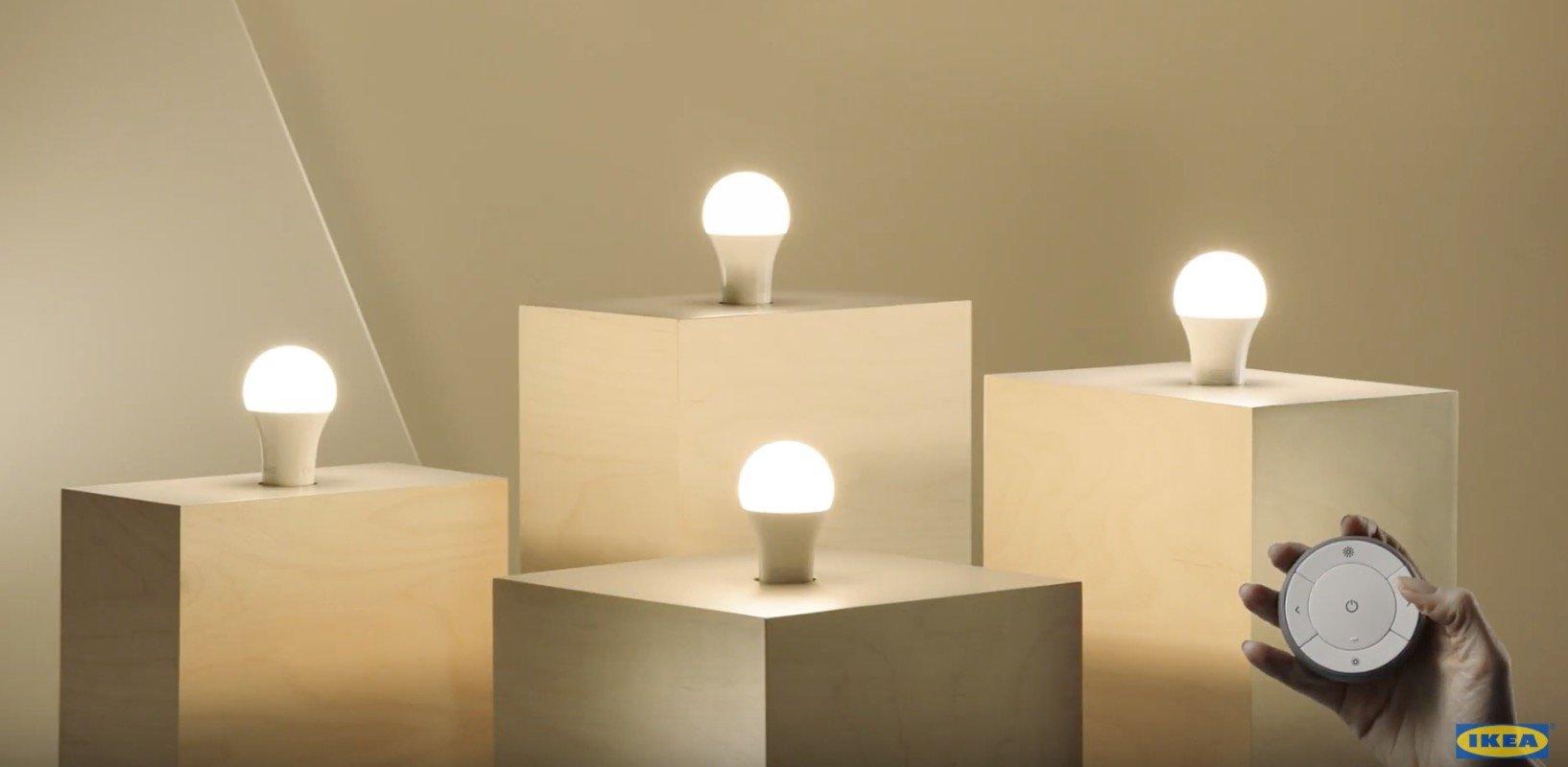 Conoce con nosotros las bombillas inteligentes de ikea - Espejo con bombillas ikea ...