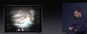 apple pencil en iPad foto