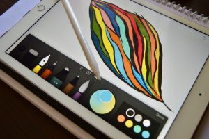 foto final iPad Pro y el Apple Pencil post