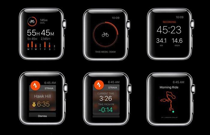aplicaciones para smartwatch strava