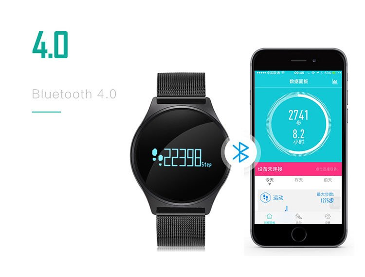 WLNGWEAR M7S: mejor smartwatch calidad precio del 2017
