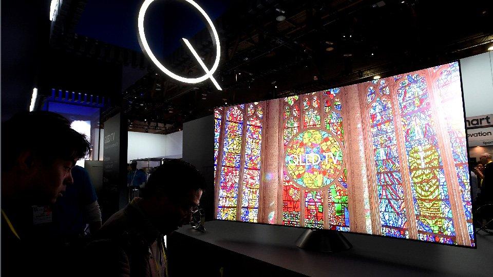 La QLED TV no podía faltar en Casa Samsung