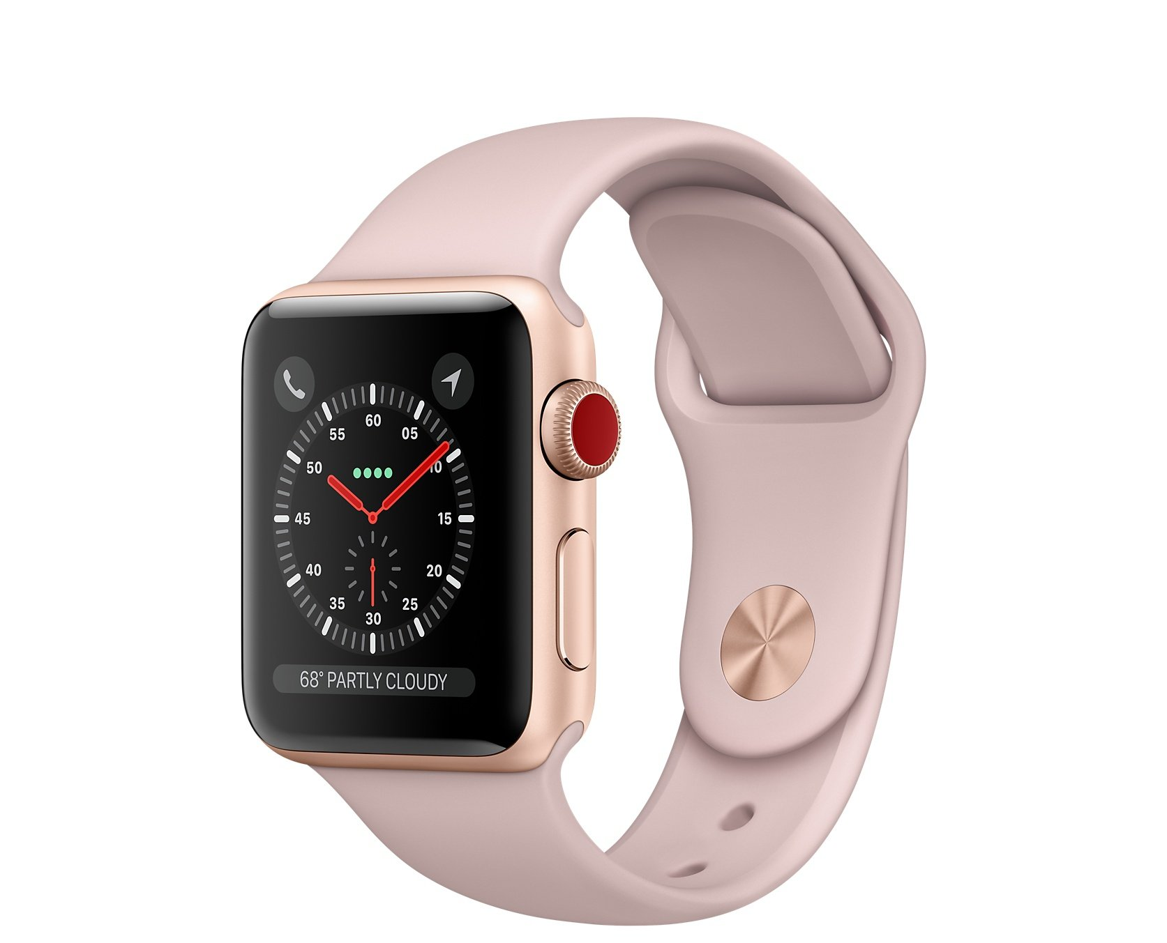 Apple Watch 3 rosa