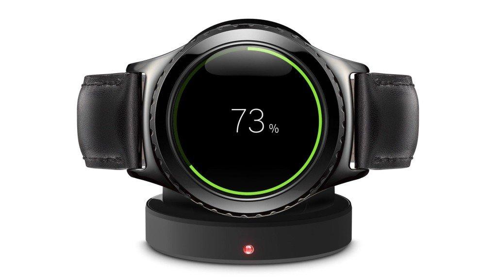 Smartwatch con carga inalambrica