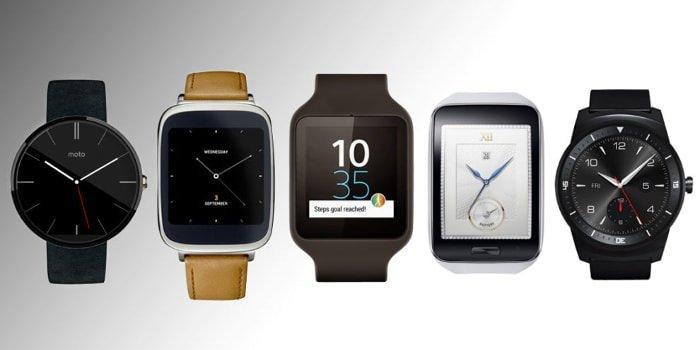Quiero comprar un smartwatch. Aquí van 3 que yo me compraría.