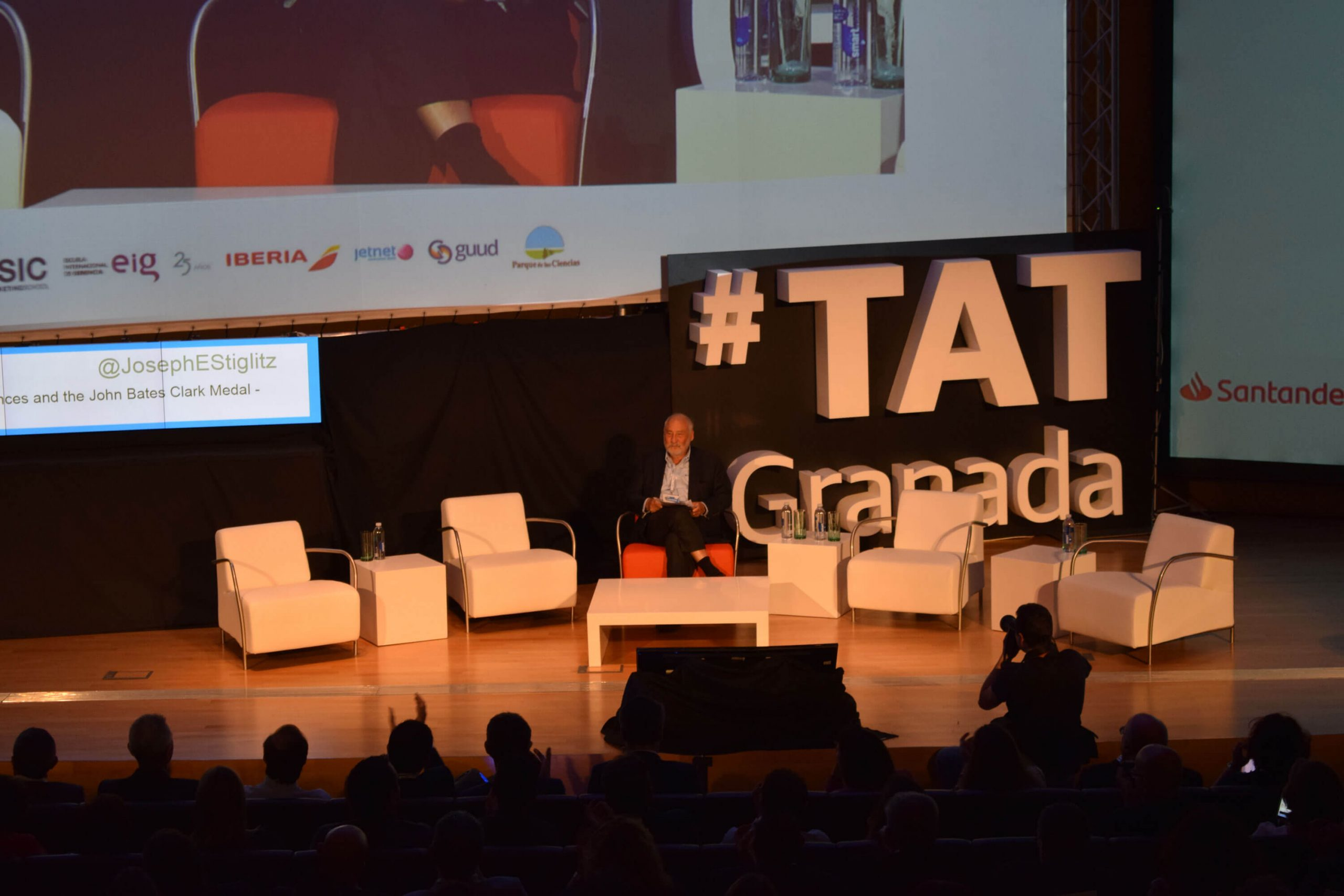 Stiglitz en TAT Granada 2018