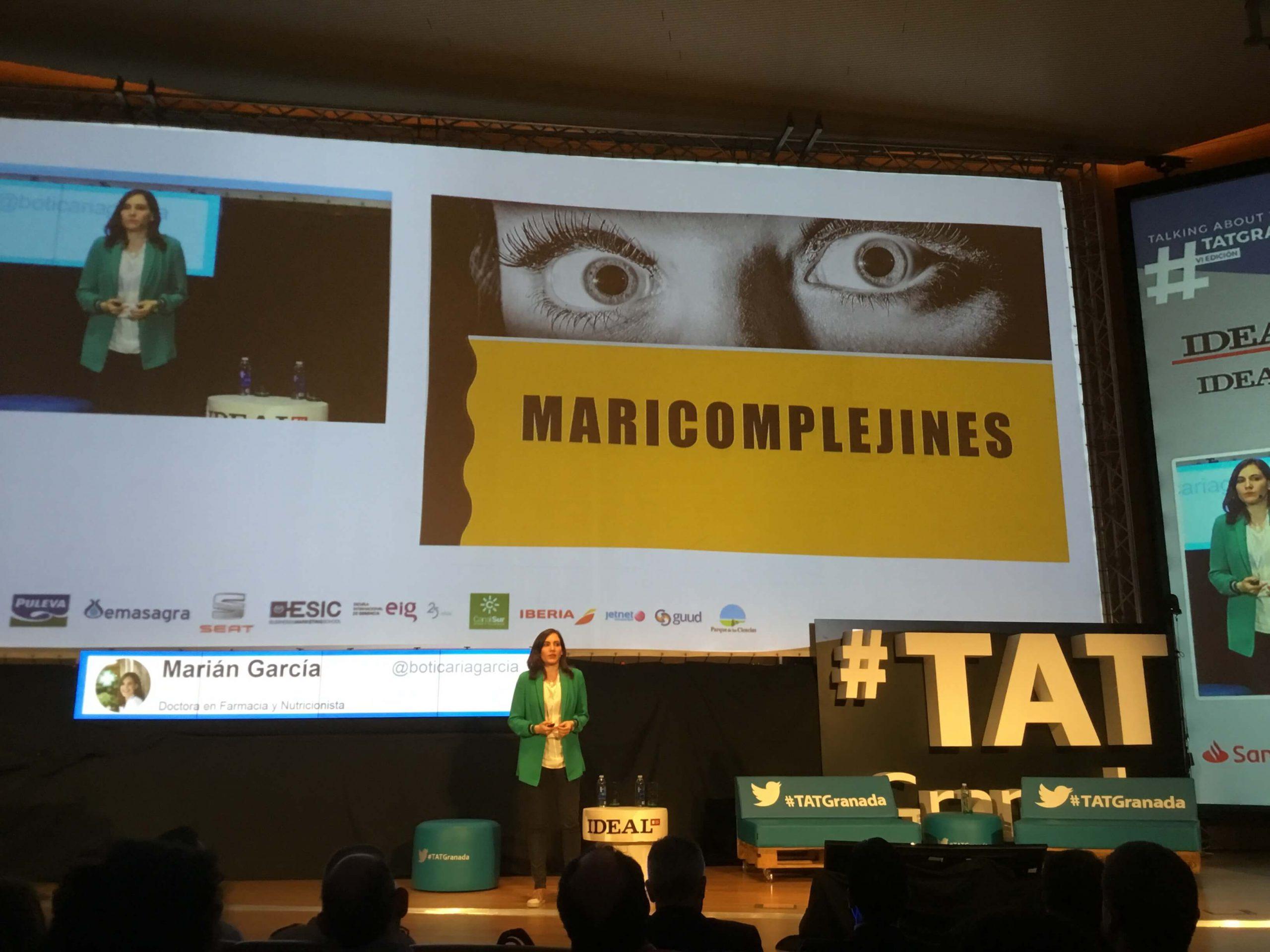 Marian Garcia en TAT Granada 2018