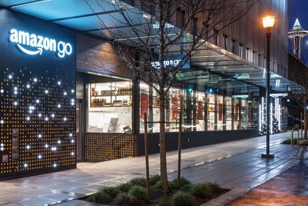 supermercado Amazon Go en Seattle
